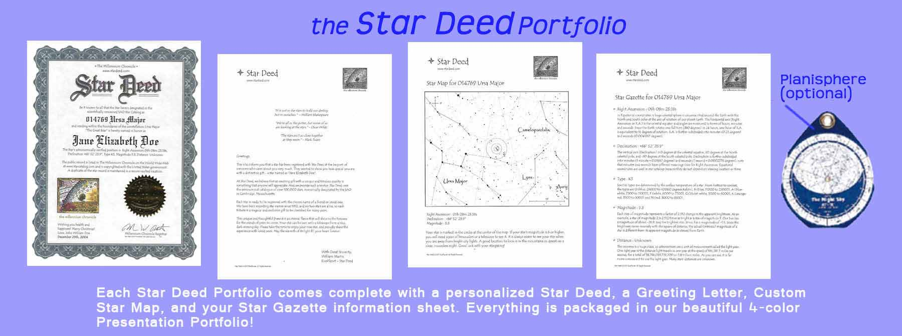 the Star Deed Portfolio